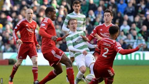 Celtic have beat Aberdeen three times this season