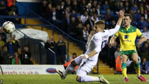 Jonny Howson scores for Norwich