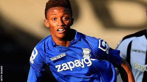 Birmingham winger Demarai Gray
