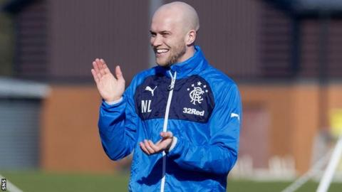 Nicky Law joined Rangers from Motherwell