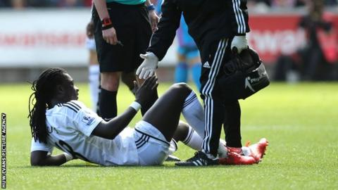 Swansea City striker Bafetimbi Gomis