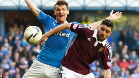 Hearts v Rangers will take place on Saturday 2 May