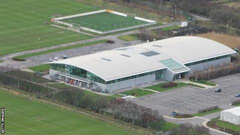 Manchester United's training ground