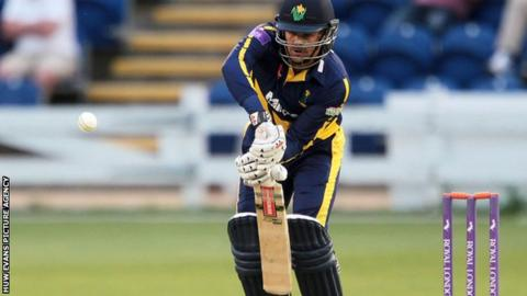 Glamorgan captain Jacques Rudolph