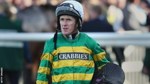 AP McCoy finished fifth in the Grand National