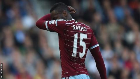 West Ham and Senegal striker Diafra Sakho