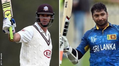 Kevin Pietersen and Kumar Sangakkara