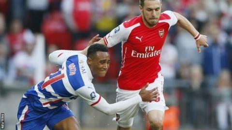 Jordan Obita and Aaron Ramsey
