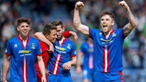 Inverness CT will be playing in their first Scottish Cup final