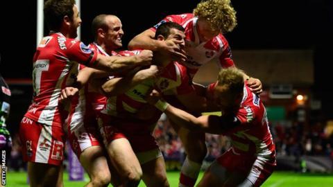 Gloucester celebrate
