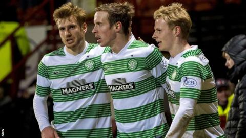 Celtic trio Stuart Armstrong (left), Stefan Johansen and Gary Mackay-Steven could all be amongst the nominations