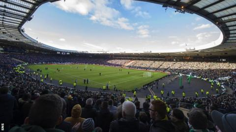 Fans fear Hampden will only be half full for the 30 May Scottish Cup final