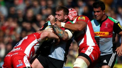 Joe Marler played in the first two of Quins' three matches since the end of the Six Nations season