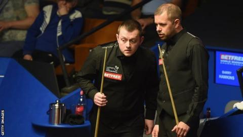 Mark Allen and Barry Hawkins