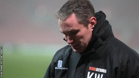 Kevin Wilkin won three promotions when he was in charge of Nuneaton