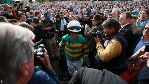 AP McCoy after his last race