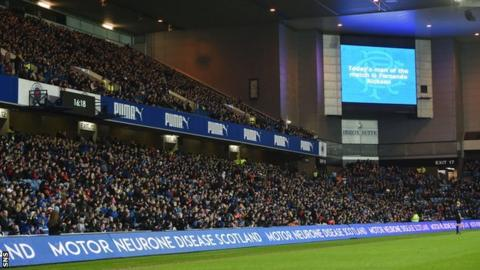 Approximately 25,000 Rangers fans could get into Ibrox for nothing