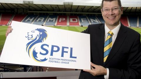 SPFL chief executive Neil Doncaster has yet to find a sponsor for the new league set-up
