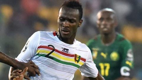Guinea's Mohamed Yattara