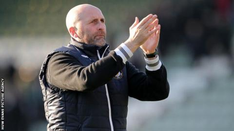 Newport County interim boss Jimmy Dack