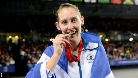 Kirsty Gilmour won silver at Glasgow 2014