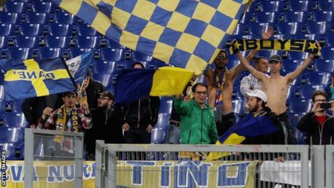 Parma fans