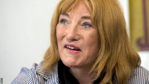 Kellie Maloney was in Scotland to promote Gary Cornish's fight with Zoltan Csala