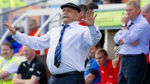 Dick Campbell's Forfar Athletic have won 20 of their 35 League One games so far