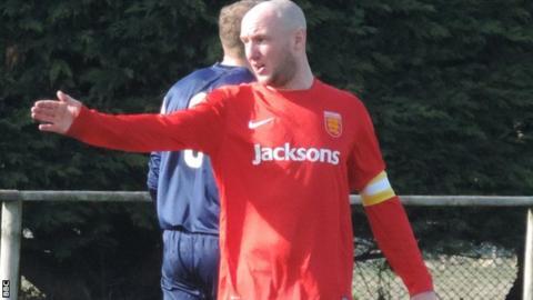Jersey captain Luke Watson