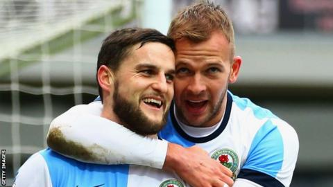 Jordan Rhodes and Craig Conway