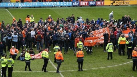 Blackpool protest
