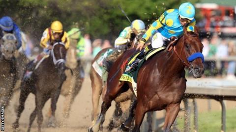 Victor Espinoza on American Pharoah