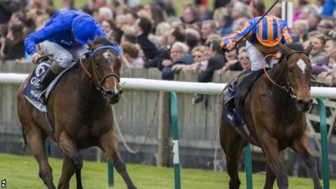Ryan Moore on Legatissimo edges out Kevin Manning on Lucida
