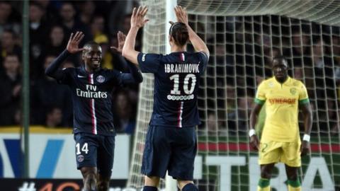 Zlatan Ibrahimovic, Blaise Matuidi