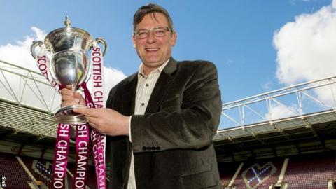Hearts director of football Craig Levein
