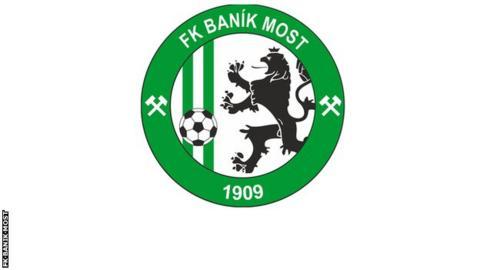 Banik Most badge