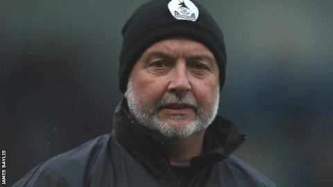AFC Telford United manager Steve Kittrick
