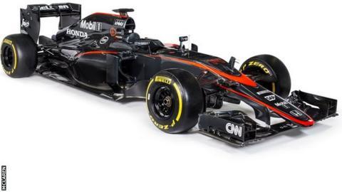 New McLaren livery