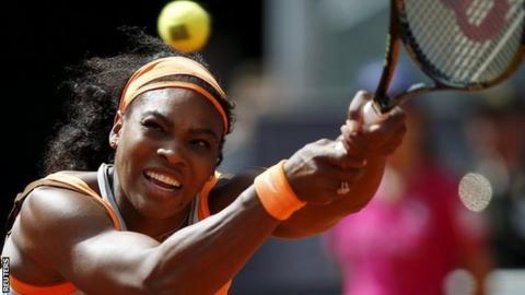 Serena Williams now has a 26-match winning streak