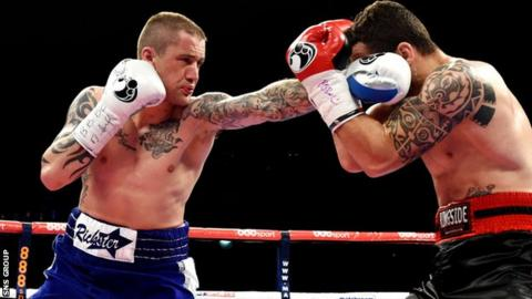Ricky Burns (left) will be fighting for the first time in the United States