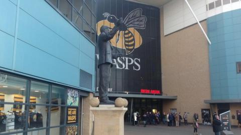 Wasps moved into Coventry City's Ricoh Arena to become the Sky Blues' landlords in December 2014