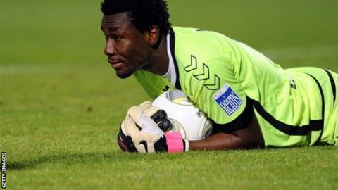 Togo goalkeeper Kossi Agassa