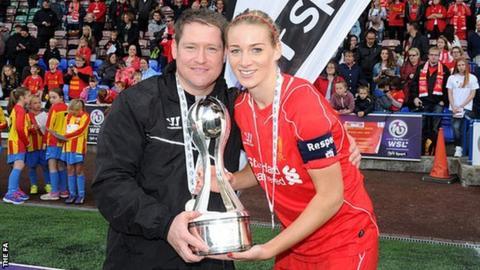 Liverpool captain Gemma Bonner
