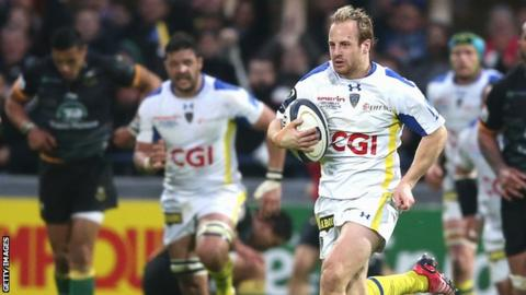 Nick Abendanon of Clermont Auvergne