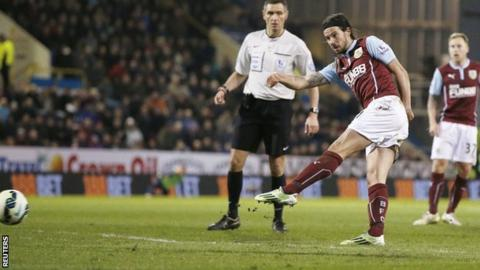 George Boyd scores for Burnley