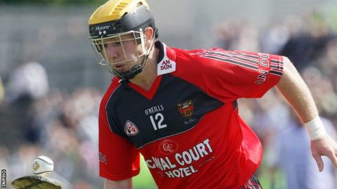 Conor Woods lined out for Down hurlers in their Christy Ring Cup win over Wicklow
