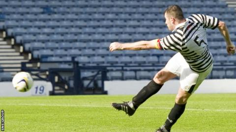Tony Quinn fired in the winning goal on 118 minutes