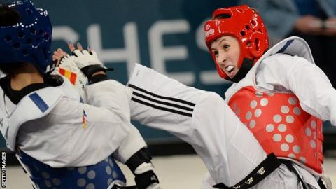 Olympic taekwondo champion Jade Jones