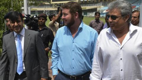 Zimbabwe cricket officials