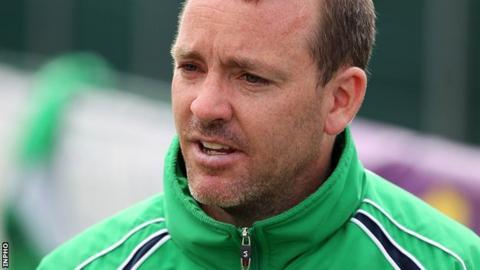 Darren Smith took over as Ireland coach in 2013